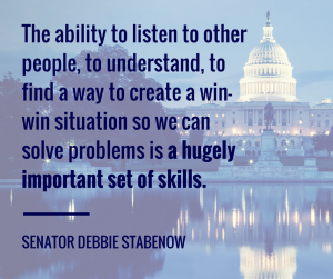 Social Work Thought Leaders: Debbie Stabenow